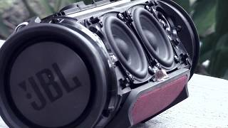 JBL Xtreme - EXTREME BASS!!! Low Frequency Mode