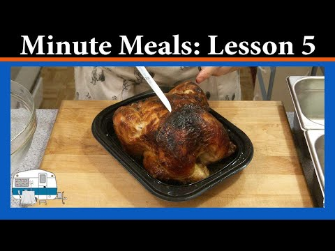 Minute Meals Lesson 5 - Pre-cooked Protein Portions