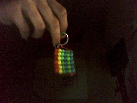 How to make a rainbow pony bead charm