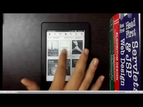 Kindle e-reader: Unboxing, File Transfer(online, USB and wifi), Account management, file conversion