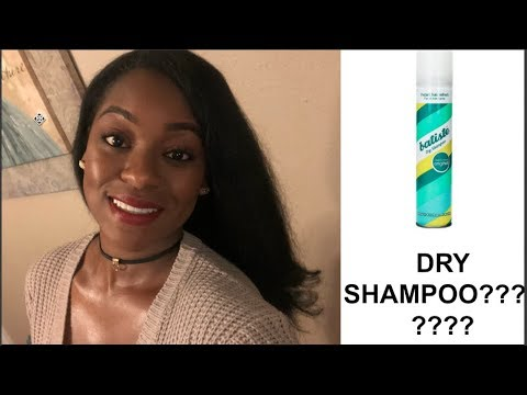 I Tried Dry Shampoo on My Natural Hair|  Review and Demo