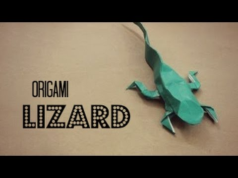 How to make an Origami Lizard (Justin Nachsin)