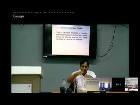 Entrepreneurship & Venture Capital in India A review by Prof NK Bishnoi