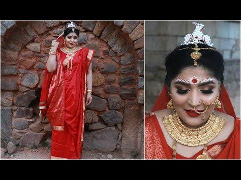 Brides Of India | The Bengali Bride Makeup Tutorial | Shreya Jain