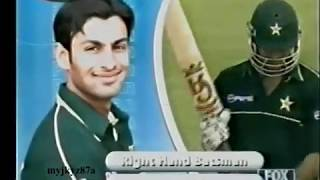 Shoaib Malik 111* vs West Indies at Sharjha 2002