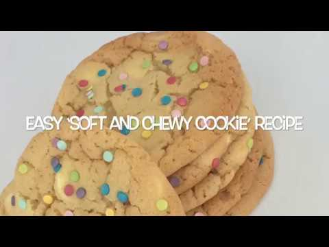 How to make 'soft and chewy' cookies (recipe)