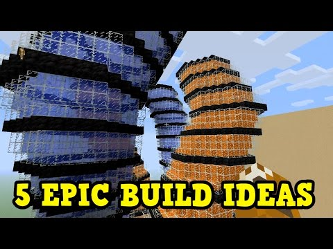5 EPIC Building Ideas for Minecraft Xbox One / PS4