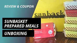Sunbasket Fresh and Ready Unboxing (Coupon \u0026 Review) by MealFinds.com