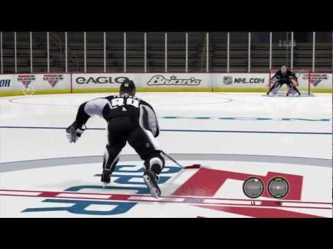 NHL 13: Wrist Shot Glitch Goal Tutorial(FIX THIS)