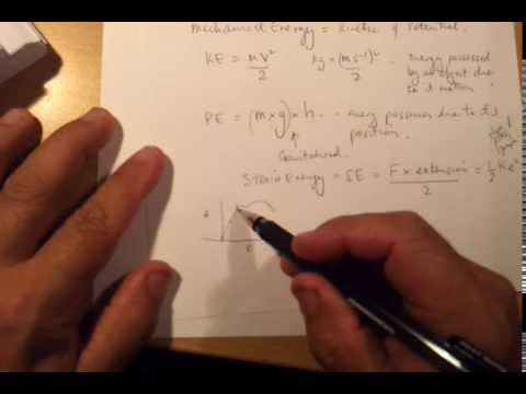 How to calculate Work,Energy and Power