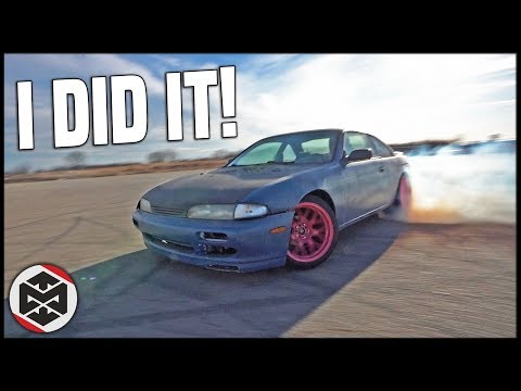 MY FIRST DRIFT EVENT in my S14 240SX!!