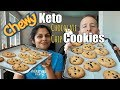 The Chewiest Keto Cookies Ever! This Secret Ingredient Is The Key
