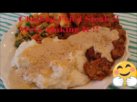 How to Make the Best Chicken Fried Steak: Put Some South in Yo Mouth!