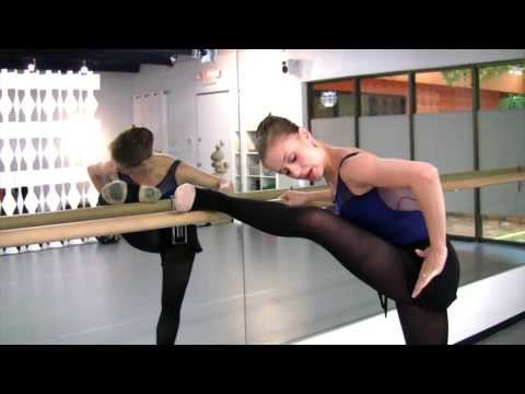 How To Stretch in Ballet, with Prima Ballerina, Jennifer Carlynn Kronenberg
