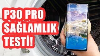 Download 50x Zoom Var Dediler Geldik: Huawei P30 Pro Sağlamlık Testi (Çamaşır Makinesi İçerir!) Video