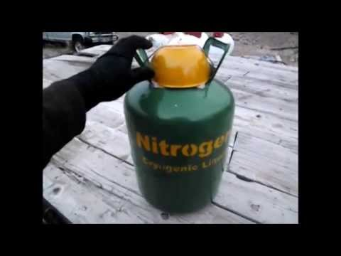 Homemade Liquid Nitrogen Dewar