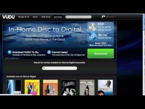 Tutorial: How To Use VUDU