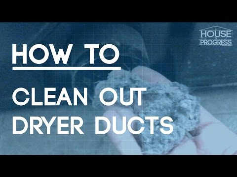 How To Clean Out Dryer Ducts