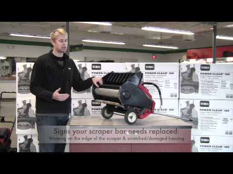 Replacing your snow blower parts: When to Replace your Paddles & Scrapers