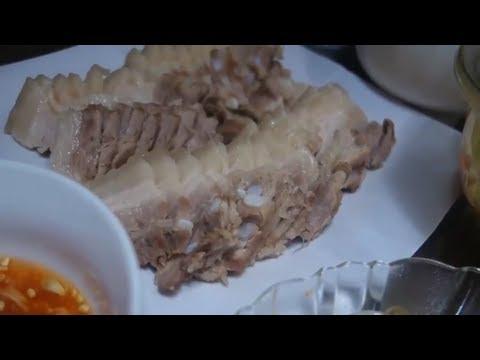 Cách luộc thịt ba chỉ thơm ngon trắng đẹp // bữa cơm gia đình