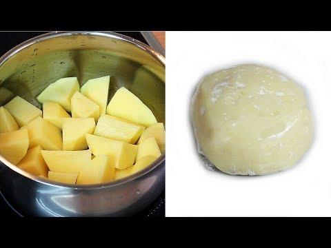 Potato Fufu: Fresh Potato Fufu using Potatoes