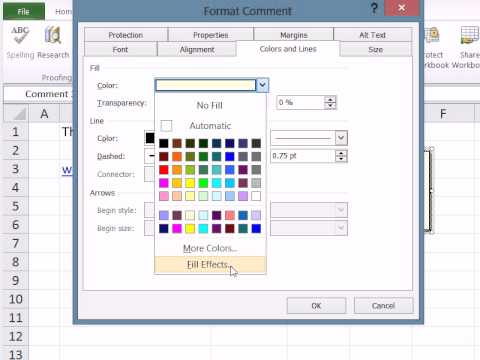 Show Picture in Excel 2010 Comment