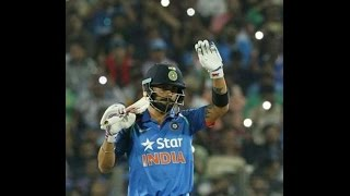 Virat Kohli 122, Kedar Jadhav 120, India Vs England   India Won By 3 Wickets in 1st ODI 15 Jan 2017