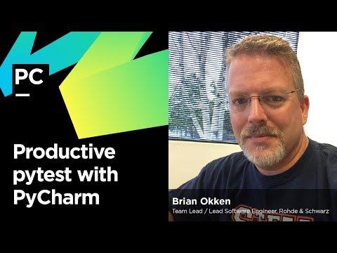 Productive pytest with PyCharm