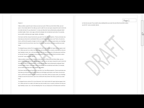 Add a Semi Transparent Background or Watermark to a Word Document
