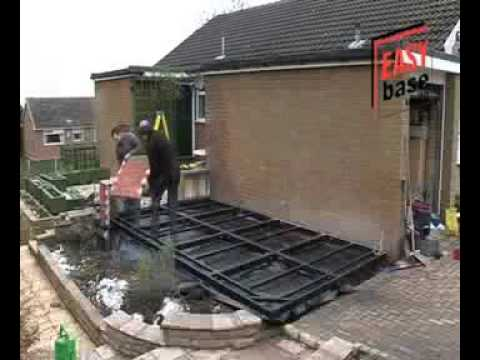 Self Build Conservatory & Base Installation