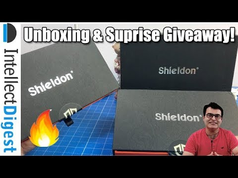Shieldon Premium Leather Wallte Cases Unboxing & Surprise Giveaway