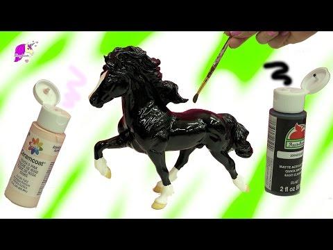Paint Do It Yourself DIY Painting Breyerfest 2017 Rare Breyer Horse - Custom Video