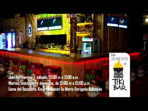 Comercial Tiki Bar