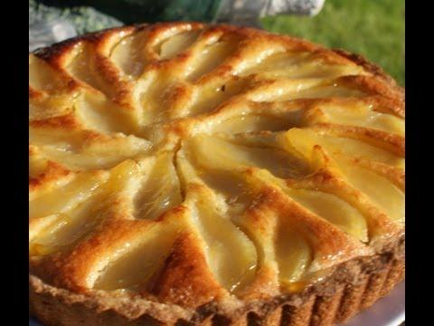 How to make Pear and Frangipane Tart