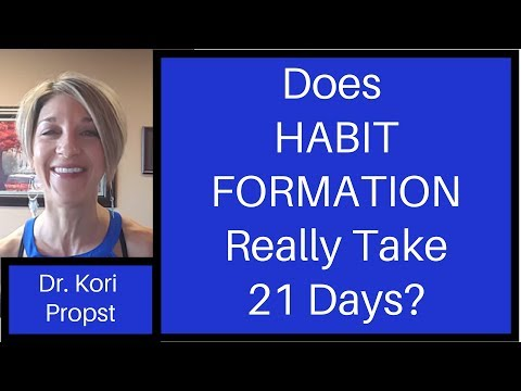 Habit Formation: Does it Really Take 21 Days?