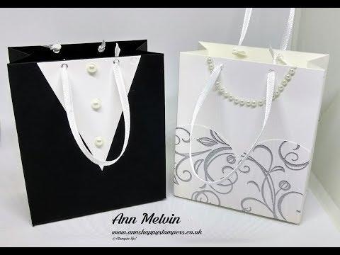#1 Wedding Week Bride & Groom Favor Bags