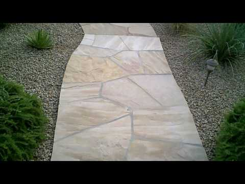 How To Seal Flagstone - Apply Sealer To Stone , Brick , Tile etc