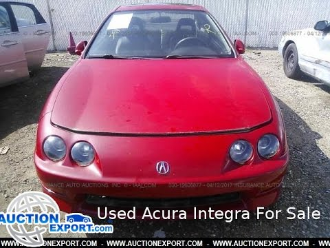 Used Acura Integra for Sale, Car Shipping from USA