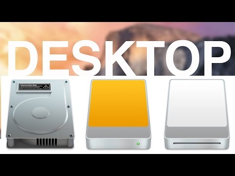 How to make external disks appear on Desktop Mac Yosemites OS X, usb,sd,hd,external hard drive icons