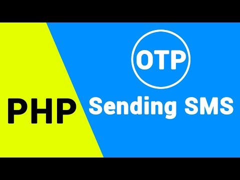 (OTP system)sending SMS in php