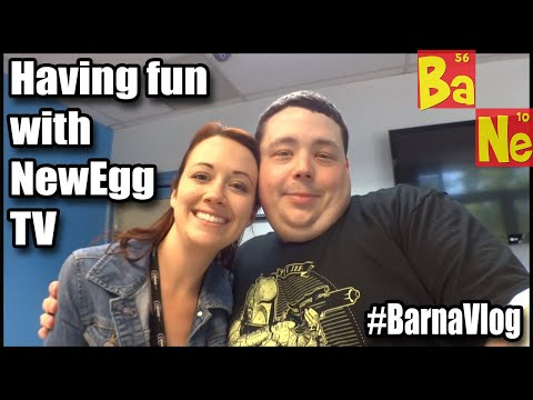 Guest Star on NewEgg TV ALT+TAB Show & Get Rosewill Swag : BarnaVlog 24