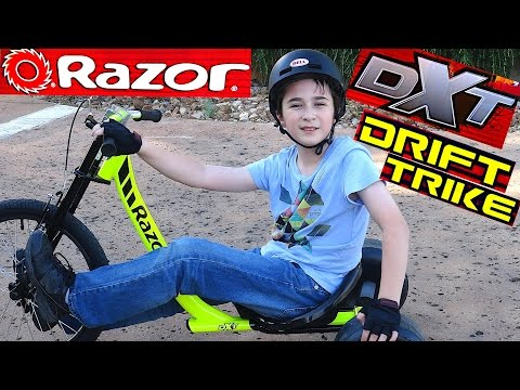 Razor DXT Drift Trike with Robert-Andre
