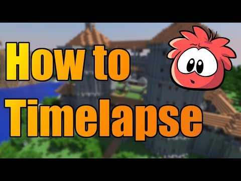 How to Record a Minecraft Timelapse Using Multiple Instances [No Mods, One Account]