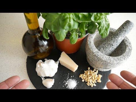 How To Make Italian Basil Pesto | Basil Pesto Recipe