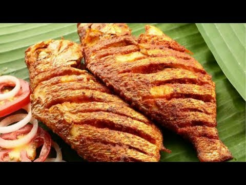 Fish Fry | Fish Fry Recipe In Tamil | Vanjaram Fish Fry