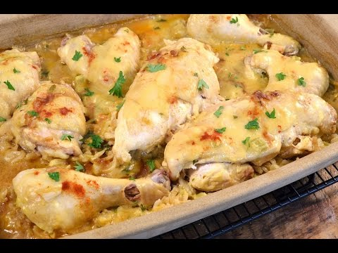 Baked Chicken and Rice -