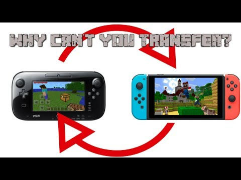 Why Can't You Transfer Worlds From Minecraft Wii U To Switch? [Update: You Now Can]