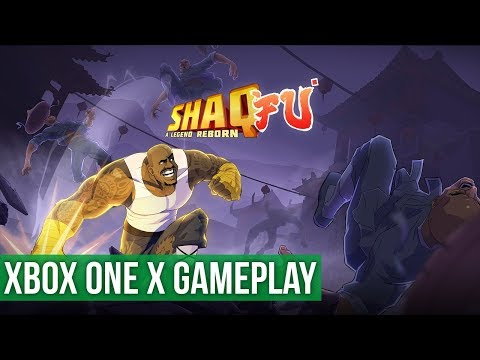 Quick Look - Shaq Fu A Legend Reborn - Xbox One X Gameplay / Preview