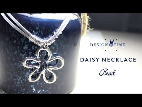 How to Make a Daisy Necklace - Design Time