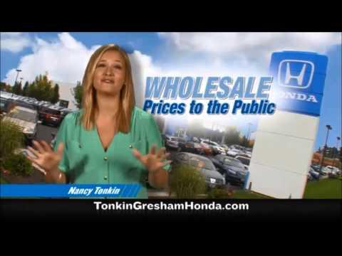 Used Car Wholesale Prices - Tonkin Gresham Honda